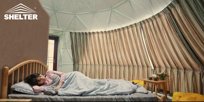 Geodesic Dwell Domes-Eco-living Domes-Shelter Dome
